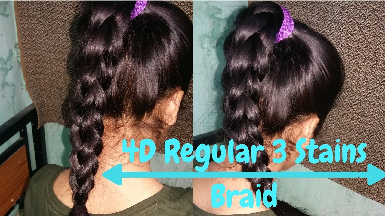How To: 4d Regular 3 Stains Braid