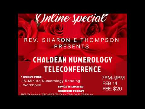 FREE NUMEROLOGY READING USING CHALDEAN SYSTEM