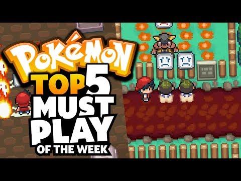 Top 5 Must Play Rom Hacks & Fan Games Of The Week #1