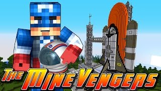 Minecraft MineVengers - CAPTAIN AMERICA DOES SPACE TRAINING!