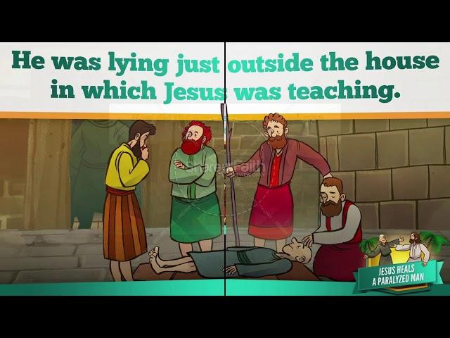 Teacher Adam - Morning Bible Study-Jesus heals a paralyzed man