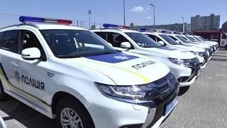 Харківська поліція отримала нові службові автомобілі