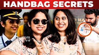Soorarai Potru Real Pilot Varsha Nair Pilot Bag Revealed by VJ Ashiq | What's Inside the Handbag