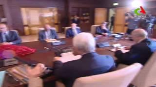 السيد رئيس الجمهورية عبد العزيز بوتفليقة في إجتماع نهار رمضان بحضور قائد الدرك اللواء مناد نوبة