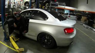 bmw 135i hpf exhaust prototype drive by w downpipes