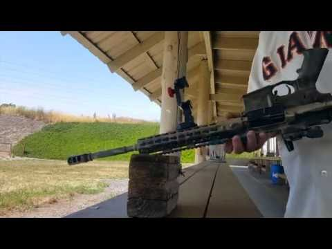 Test Firing With The Velocity Clip and Picatinny Mount