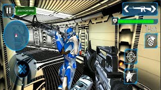 Counter Terrorist Robot Shooting Game:FPS Shooter - Android GamePlay - FPS Shooting Games Android #3