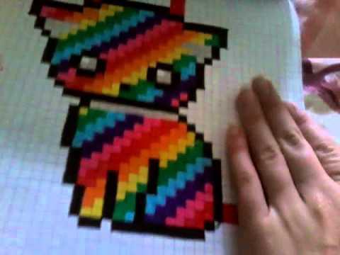 Présentation De Dessins Pixel Arts Graffitis