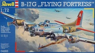 Video Revell 1/72 B17 in- box review download MP3, 3GP, MP4, WEBM, AVI, FLV Juli 2018