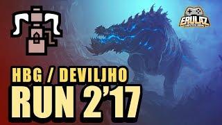 MHW - Deviljho Speedrun 2'17 HBG - モンスターハンター:ワールド