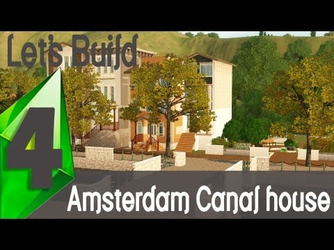 The Sims - Let's Build an Amsterdam Canal house | Part 4