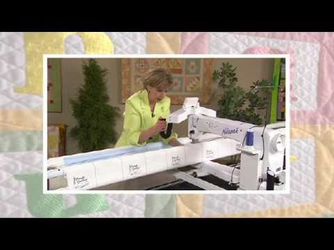 Quilters Academy Longarm Basics Pantographs Dvd Youtube