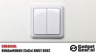 Unboxing: KlikAanKlikUit AWST-8802