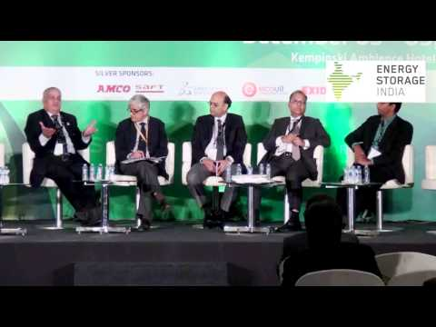 Energy Storage India 2014- Panel Discussion on Role of Energy Storage in Renewable Integration