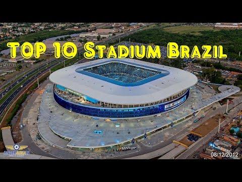 Top 10  Biggest  Stadium Brazil  (1)