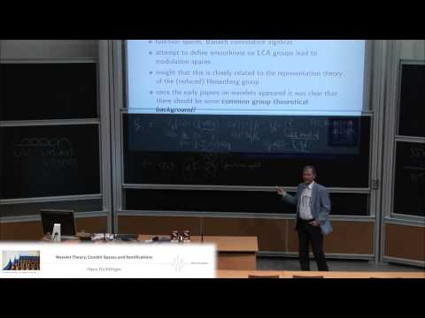 Hans Feichtinger: Wavelet theory, coorbit spaces and ramifications