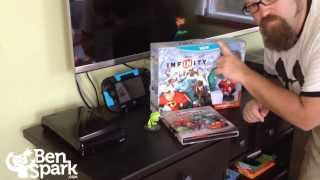 Opening The Disney Infinity Starter Pack for Wii U