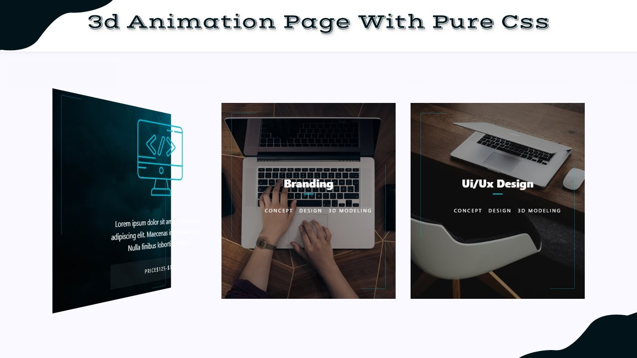 3D Animation Website