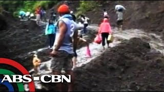 Landslides force over a hundred families to flee Biliran town