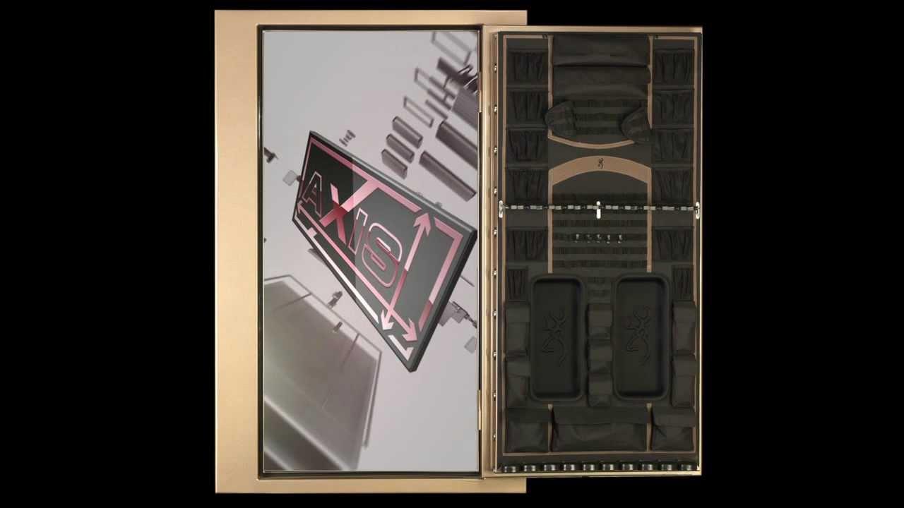 Gun Safes - An inside look at a Browning ProSteel Gun Safe - SHOT Show  display 2:39