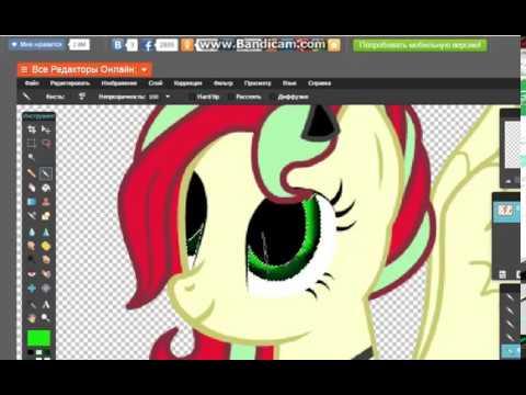 Обработка аватара в онлайн фотошопе(Аватария)