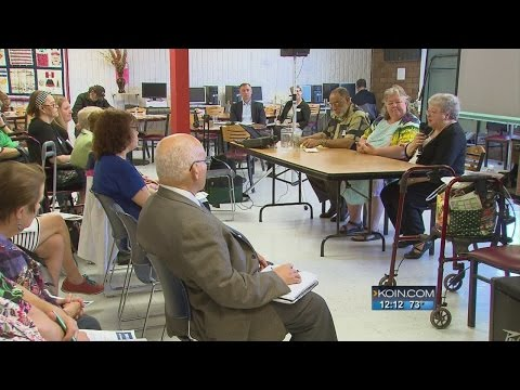 Seniors share growing issues at People's Forum