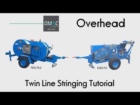 Omac Overhead Twin Line Stringing Tutorial