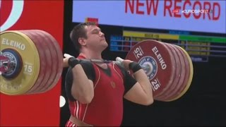 Aleksey Lovchev All Attempts, WR , Men +105, 2015 World Weightlifting Championships ,Houston USA