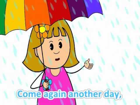 Học tiếng Anh lớp 3 qua bài hát Rain rain go away
