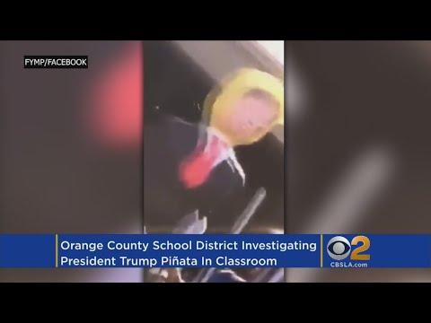 School District Says Investigation Of Trump Piñata Video A 'Personnel Matter'