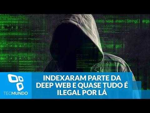 Indexaram parte da Deep Web e foi confirmado: quase tudo é ilegal por lá