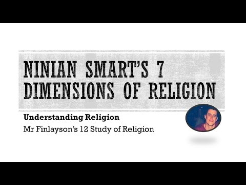 ninians smarts dimensions essay Reflections in the mirror of religion by ninian smart  the essays selected for this volume represent professor ninian smart's most dimensions 141.