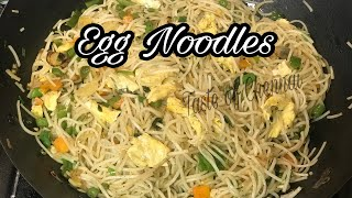 Egg Noodles in Tamil  Egg Noodles Restaurant Style  Street Food ~ Egg Noodles Recipe