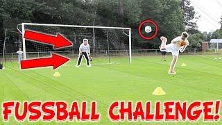 FUßBALL CHALLENGE EXTREME BESTRAFUNG!! RABONA, VOLLEYS, FREISTÖSSE!!