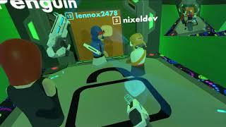 Recroom | robot swarm