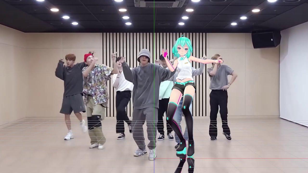 [MMD Dance cover] BTS - Dynamite (Test Motion)