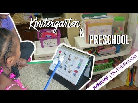 Learning at Home | Kindergarten & Preschool Homeschool while working