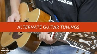 alternate guitar tunings - playing like your favorite artists