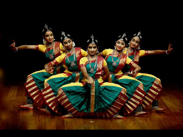 Ganesa Pancharatnam - Group presentation - Sridevi Nrithyalaya - Bharathanatyam Dance