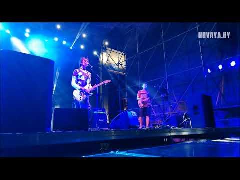 Рок концерт от «Белой Руси» в Новополоцке. Выступление группы «МУТНАЕВОКА»