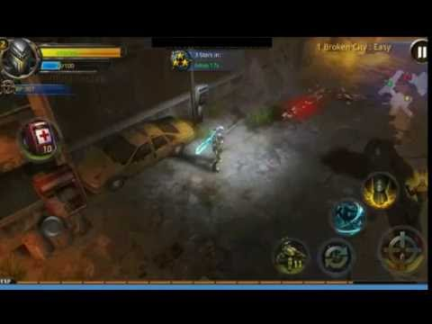 BROKEN DAWN 2 RPG WITH RIOT POLICE in broken city (Beginning) / ANDROID gameplay