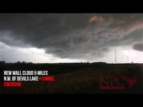 Tornado Outbreak in N D  August 3, 2016