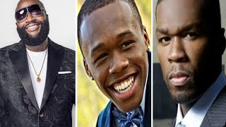 50 Cent Tells Rick Ross He's Gonna Come See Him After Ross Says 50 Cent Son Applied to work at MMG.