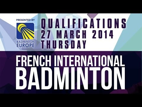 QR - WS - Nicole Ankli vs Stephanie Cloarec - 2014 French International