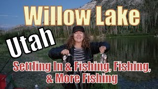 Van Life; Part 1-Willow Lake: Settling In & Fishing, Fishing & More Fishing
