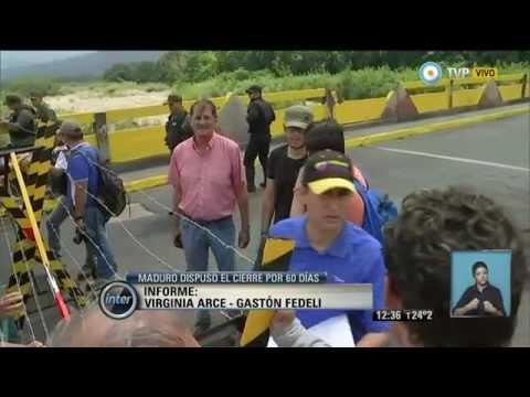 V7inter - Tensión en la frontera entre Venezuela y Colombia