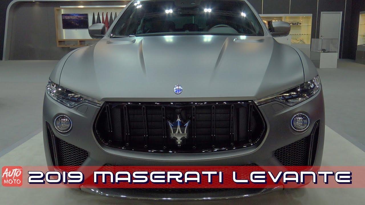 2019 Maserati Levante Exterior And