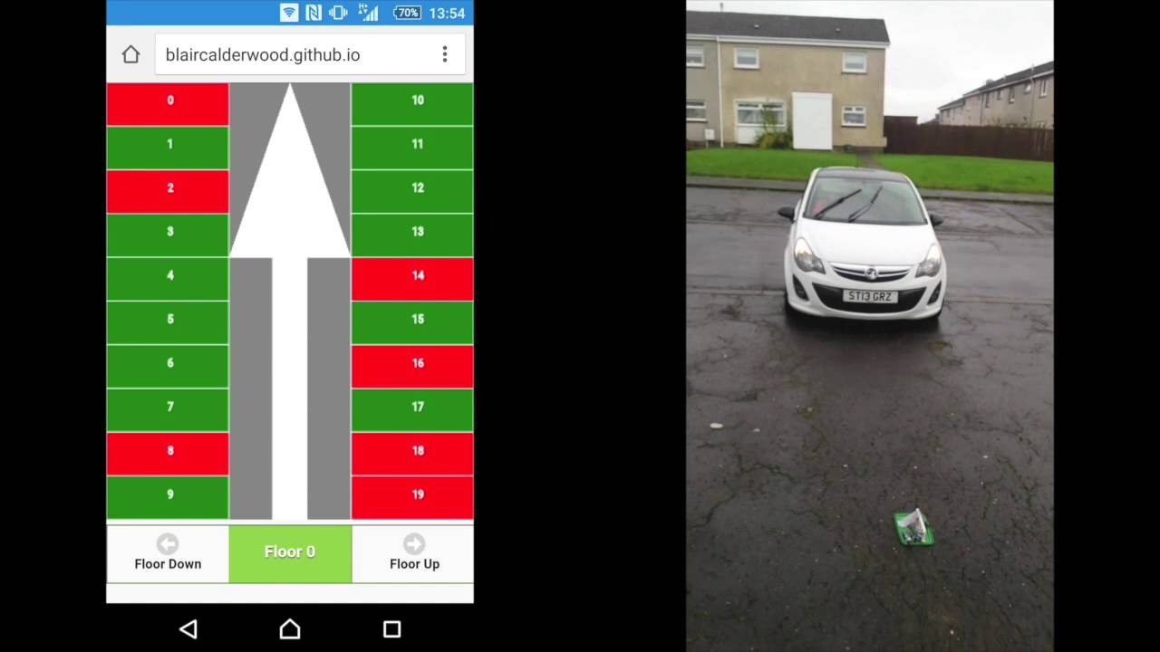automated car parking with empty slot detection pdf