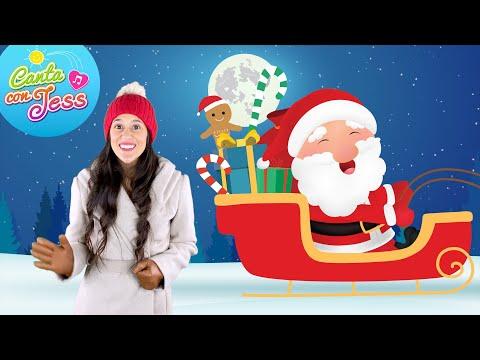 Jingle Bells Song In Spanish Adaptation Cancion De Navidad Christmas Song To Learn Spanish Youtube