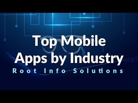 List of Top Mobile Apps Development by Industry